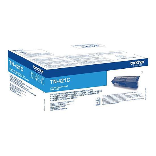 Toner imprimante Brother TN-421C Toner cyan - 1800 pages - Autre vue