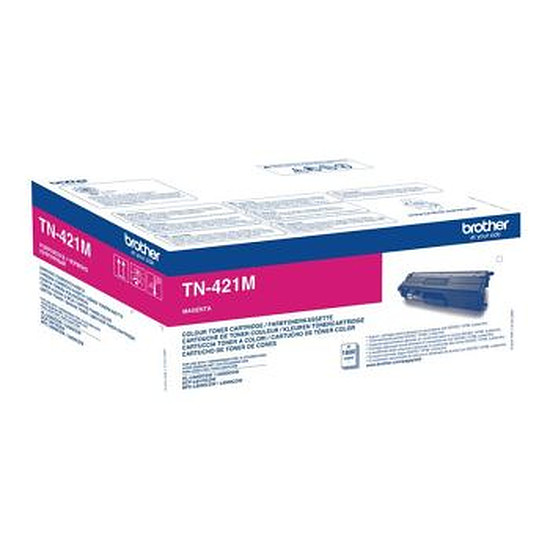 Toner imprimante Brother TN-421M Toner magenta - 1800 pages
