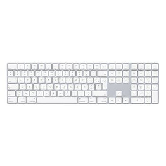 Clavier PC Apple Magic Keyboard avec pavé numérique - QWERTY US