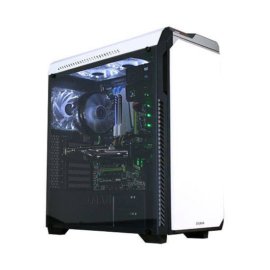 Boîtier PC Zalman Z9 Neo Plus Blanc