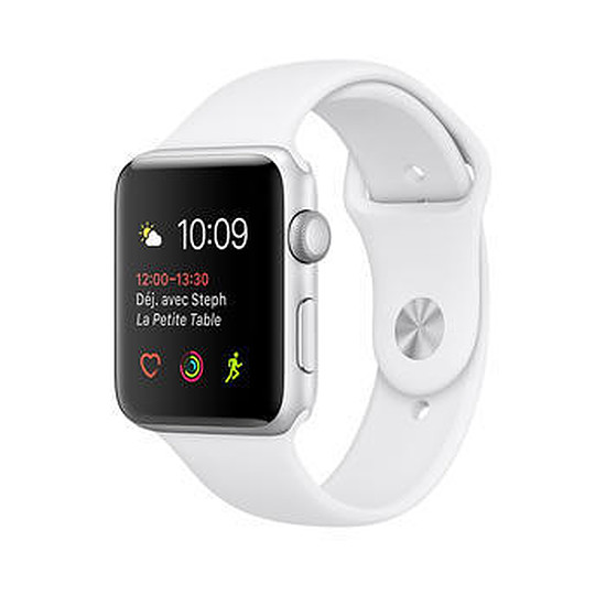 Montre connectée Apple Watch 2 aluminium 38 mm