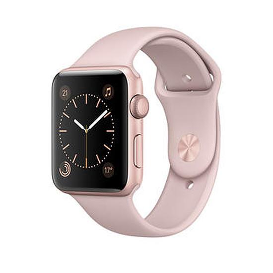 Montre connectée Apple Watch 2 aluminium 38 mm or rose