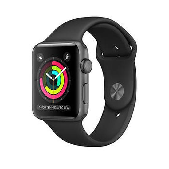 Montre connectée Apple Watch 2 aluminium 38 mm gris sidéral