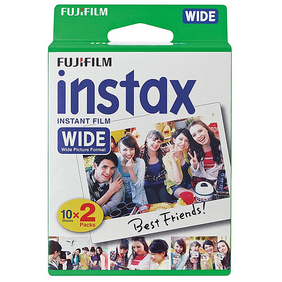 Accessoires Photo Fujifilm Film Instax Wide Bipack (10x2)