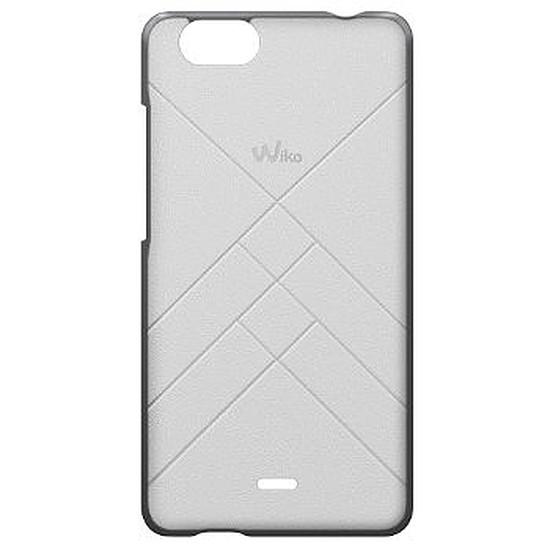 Coque et housse Wiko Coque Jetlines (blanc) - Wiko Pulp 4G