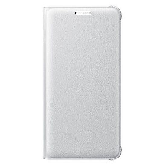 Coque et housse Samsung Etui Flip Wallet (blanc) - Galaxy A3 2016