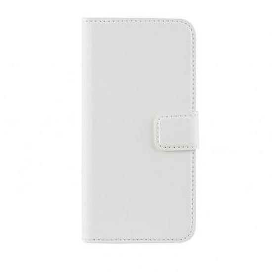Coque et housse Xqisit Folio slim wallet (blanc) - Galaxy Note 4