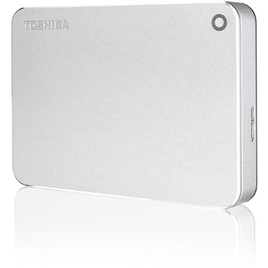 Disque dur externe Toshiba Canvio Premium 1 To - USB 3.0 (argent métallisé)