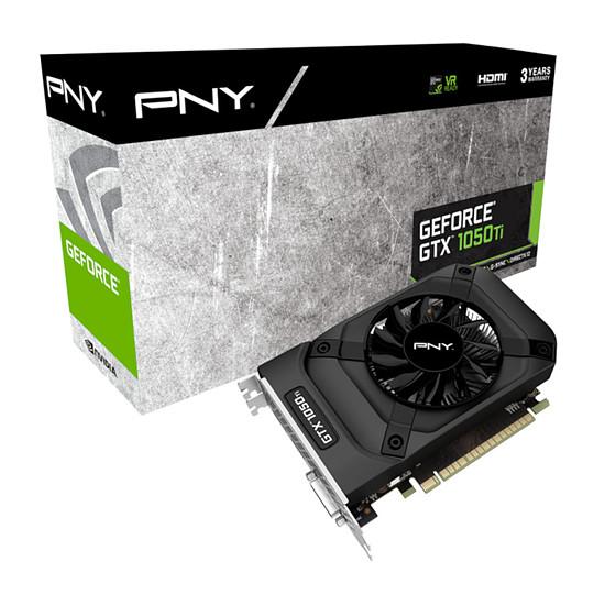 Carte graphique PNY GeForce GTX 1050 Ti - 4 Go