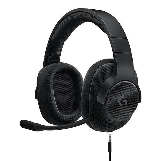 Casque micro Logitech G433 - Noir - Autre vue
