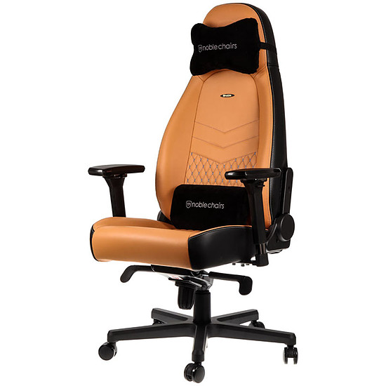 Fauteuil / Siège Gamer Noblechairs ICON Cuir - Brun