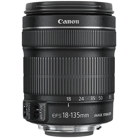 Objectif pour appareil photo Canon EF-S 18-135mm f/3.5-5.6 IS STM