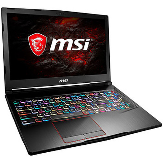 PC portable MSI GE63VR 7RE-013XFR