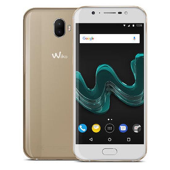 Smartphone et téléphone mobile Wiko Wim (or)