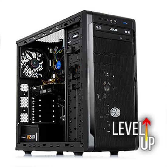PC de bureau Materiel.net Player One LVLUP [ Win10 - PC Gamer ]