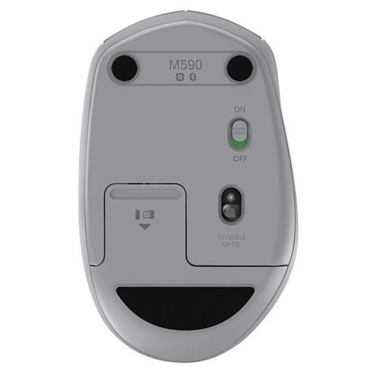Souris PC Logitech M590 - Gris - Autre vue