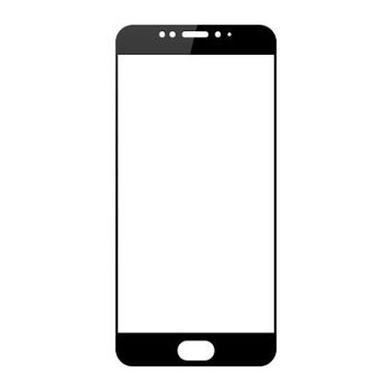 Protection d'écran Meizu Film en verre trempé (contour noir) - Meizu MX6
