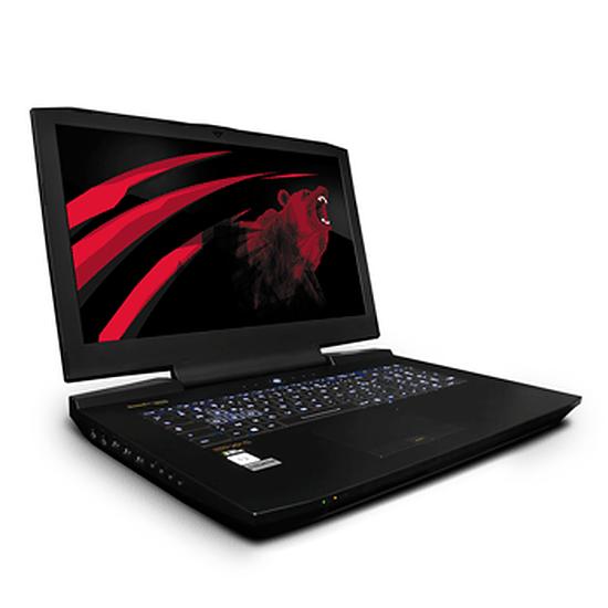 PC portable Materiel.net Berserk MK6 UHD - 17 pouces - Sans OS