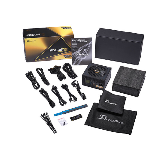 Alimentation PC Seasonic FOCUS Plus 550 Gold - Autre vue