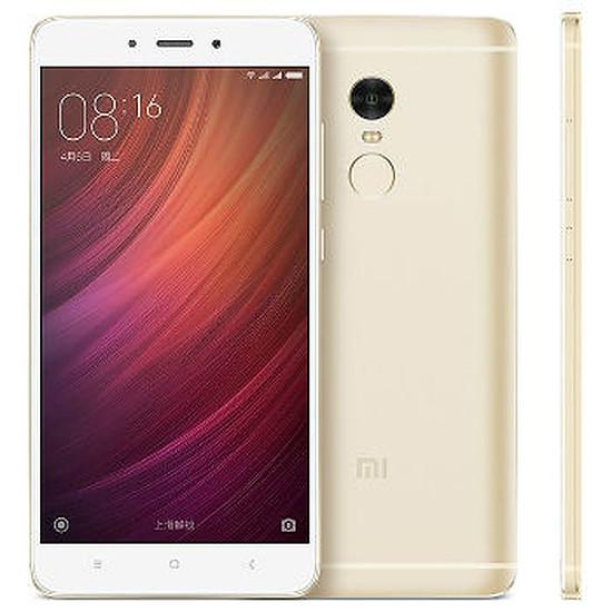 Smartphone et téléphone mobile Xiaomi Redmi Note 4 (or) - 64 Go