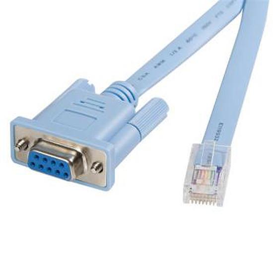 Câble RJ45 StarTech.com Cable console RJ45 a DB9 1,8m pour routeur Cisco