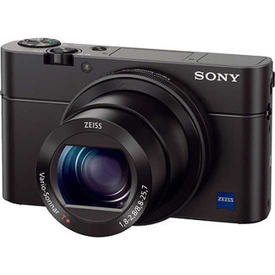 Appareil photo compact ou bridge Sony CyberShot DSC-RX100 III + Etui cuir
