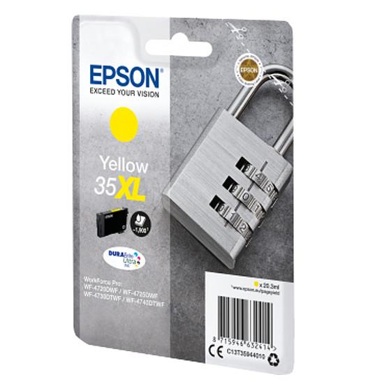 Cartouche imprimante Epson Jaune 35XL haute capacité - Autre vue