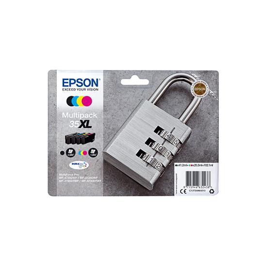 Cartouche imprimante Epson Multipack 35XL haute capacité 4 couleurs