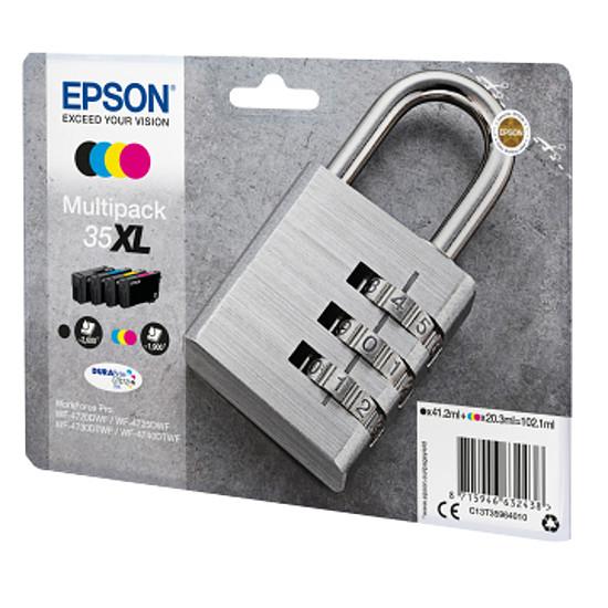 Cartouche imprimante Epson Multipack 35XL haute capacité 4 couleurs - Autre vue