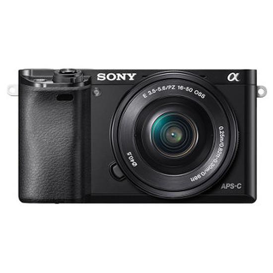 Appareil photo hybride Sony Alpha 6000 + 16-50 mm + Sacoche + 8 Go (Pack)