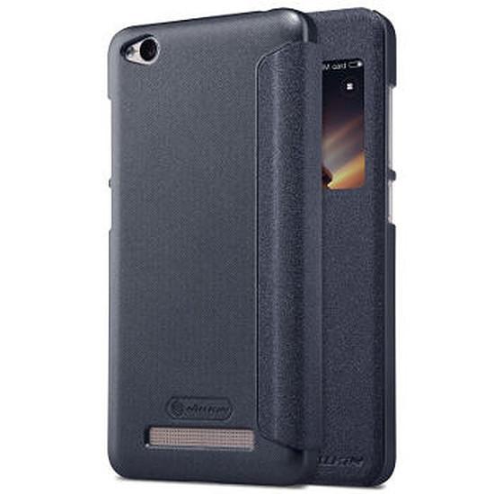 Coque et housse Nillkin Folio (noir) - Xiaomi Redmi 4A