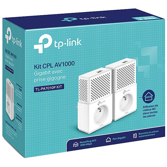 CPL TP-Link TL-PA7010P KIT(FR) - Pack 2 CPL1000 - Autre vue