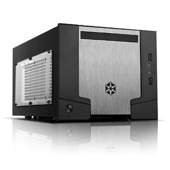Boîtier PC Silverstone Sugo SG07B-W USB 3.0 Edition - Fenêtre