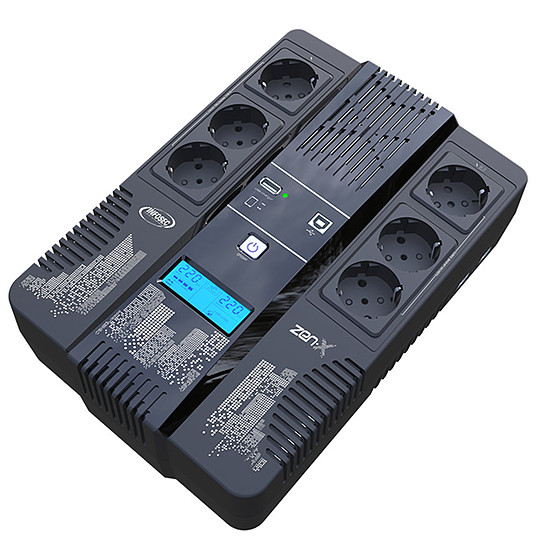 Onduleur Infosec Zen-X 600 VA