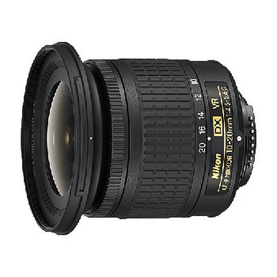 Objectif pour appareil photo Nikon AF-P DX 10-20mm f/4.5-5.6G VR