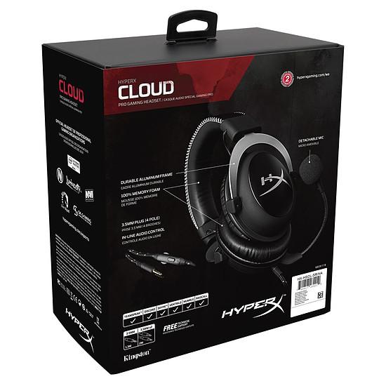 Casque micro HyperX Cloud - Argent - Autre vue