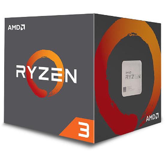 Processeur AMD Ryzen 3 1200 Wraith Stealth Edition (3,1 GHz)