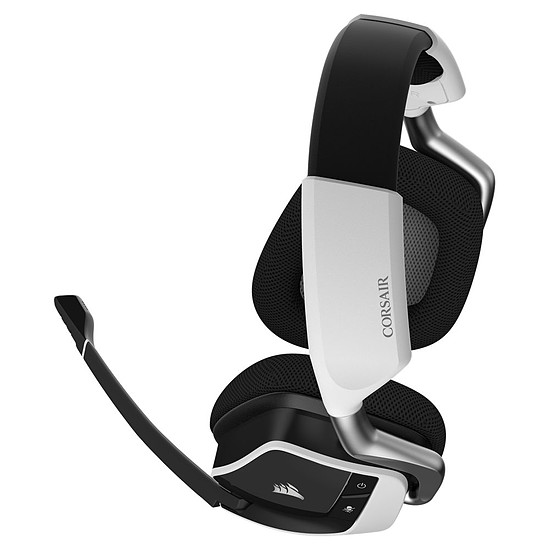 Casque micro Corsair VOID PRO Wireless 7.1 - Blanc - Autre vue