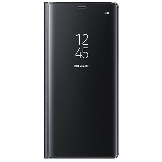 Coque et housse Samsung Clear View Cover (noir) - Samsung Galaxy Note 8