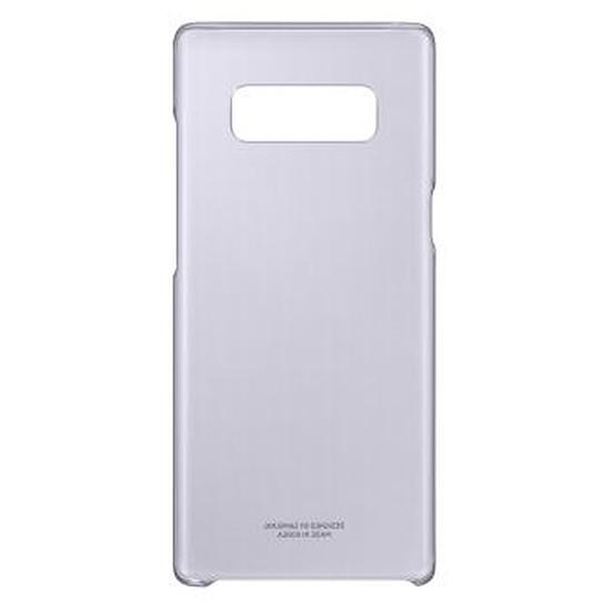 Coque et housse Samsung Coque fine (transparente lavande) - Galaxy Note 8