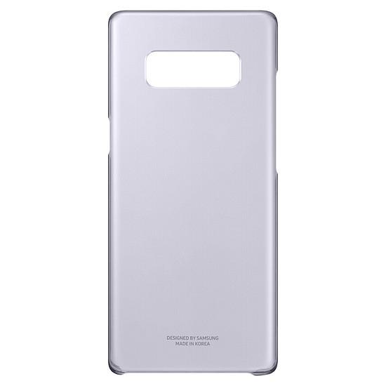 Coque et housse Samsung Coque fine (transparente lavande) - Galaxy Note 8 - Autre vue