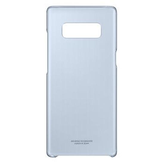 Coque et housse Samsung Coque fine (transparente bleue) - Galaxy Note 8