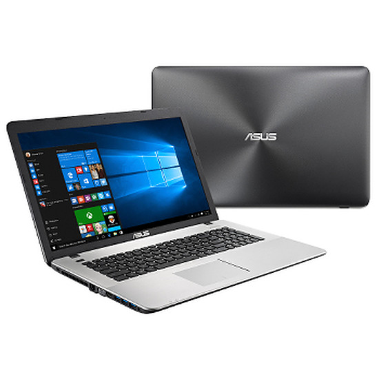 PC portable Asus R753UX-T4068T - i5 - 8 Go - SSD - GTX 950M - IPS -