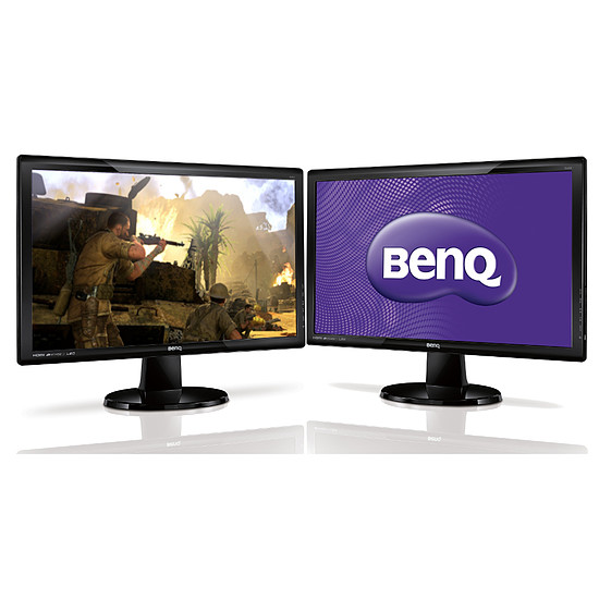 Écran PC BenQ GL2460HM x2