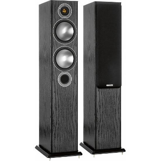 Enceintes HiFi / Home-Cinéma Monitor Audio Bronze 5 Noir (la paire)