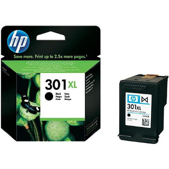 Cartouche imprimante HP Pack 2 x cartouche d'encre n°301XL (CH563EE)- Noir