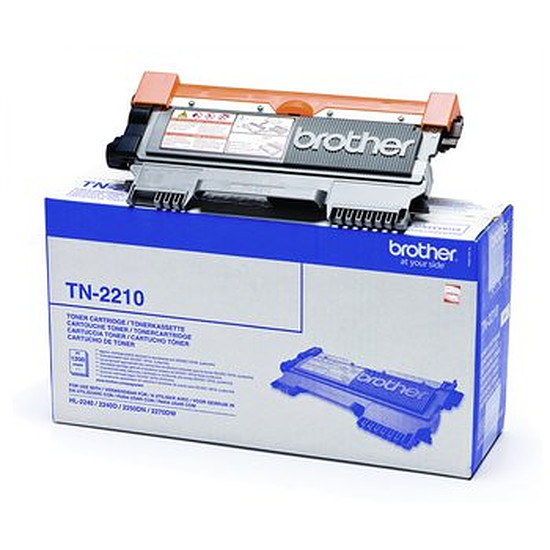 Toner Brother Pack 2 x TN-2210 Noir standard