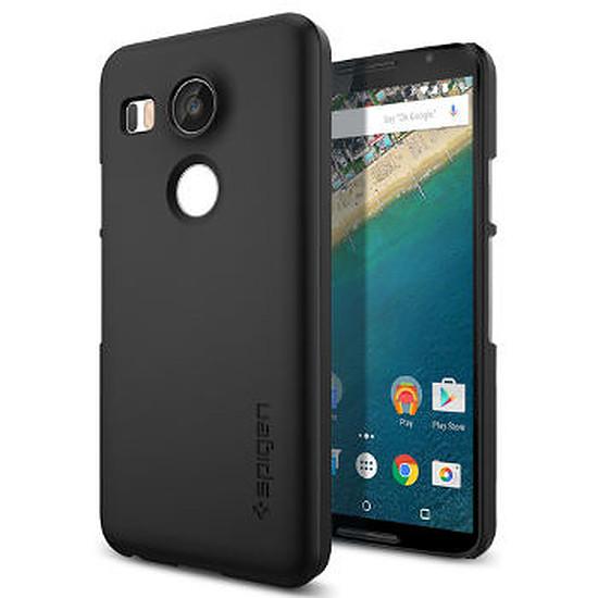 Autres accessoires Spigen Coque (noir) + film protecteur - Nexus 5X