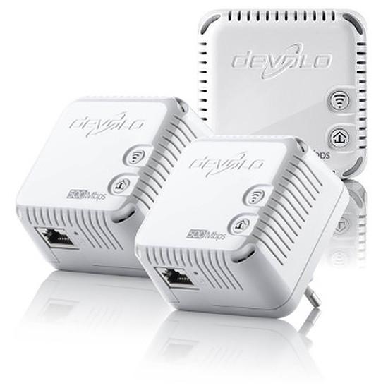 CPL Devolo Pack de 3 CPL dLAN 500 WiFi