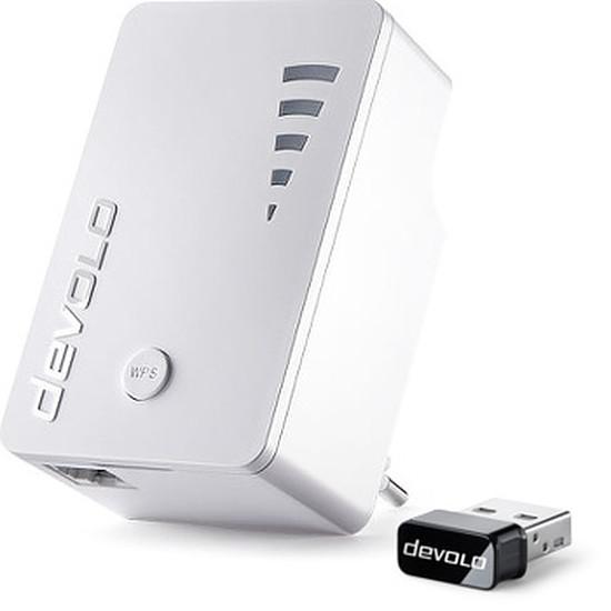 Répéteur Wi-Fi Devolo Pack 1 Répéteur WiFi AC1200 et 1 Clé USB WiFi AC